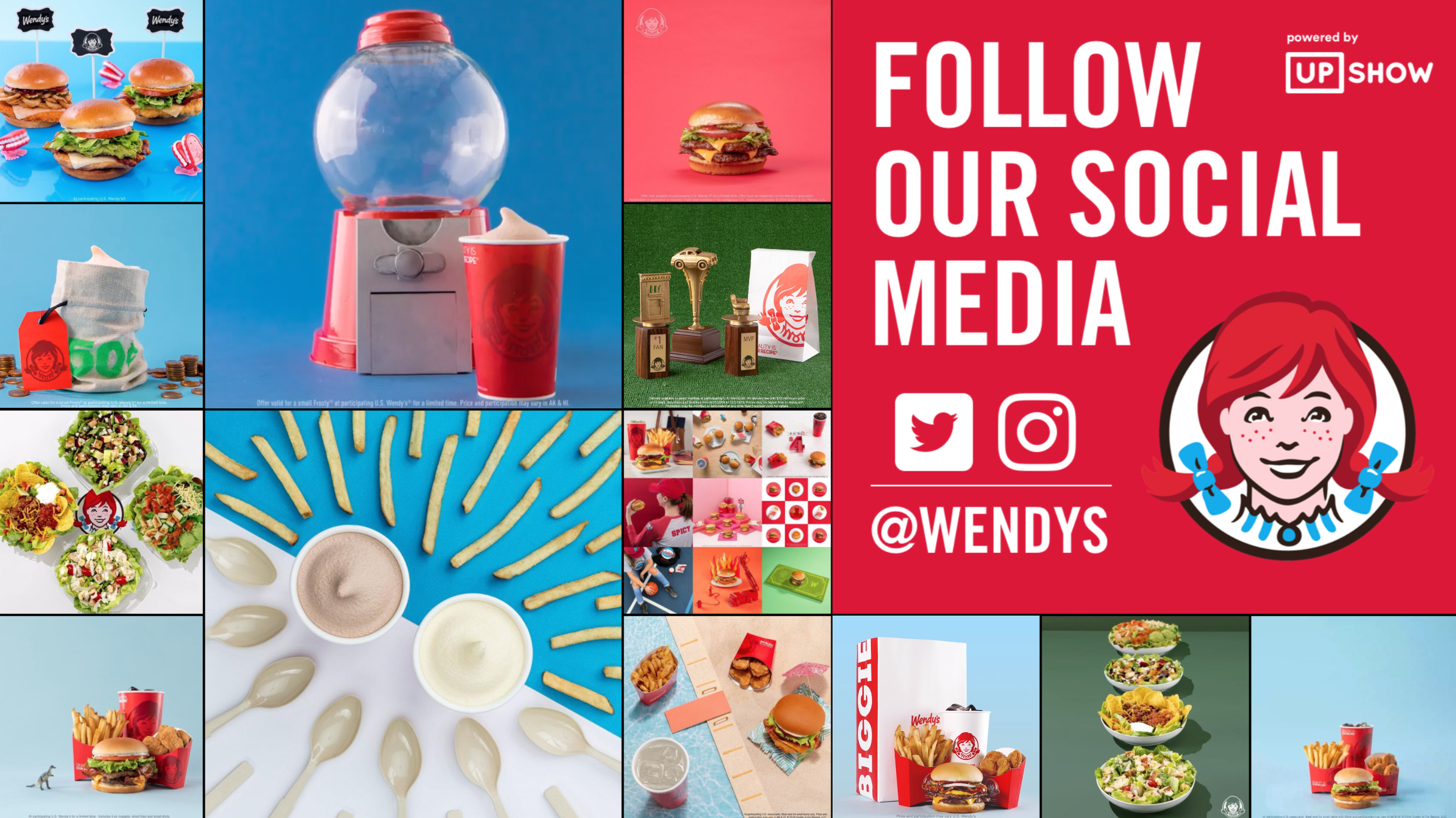 Wendy's franchisees cut the cord on their TV service in favor of a branded platform that highlighted their restaurant's signage and hyperlocal entertainment