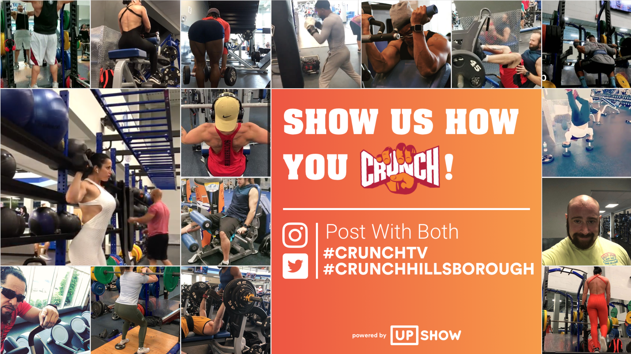 Engage members at your fitness club by transforming your TVs into social media displays.