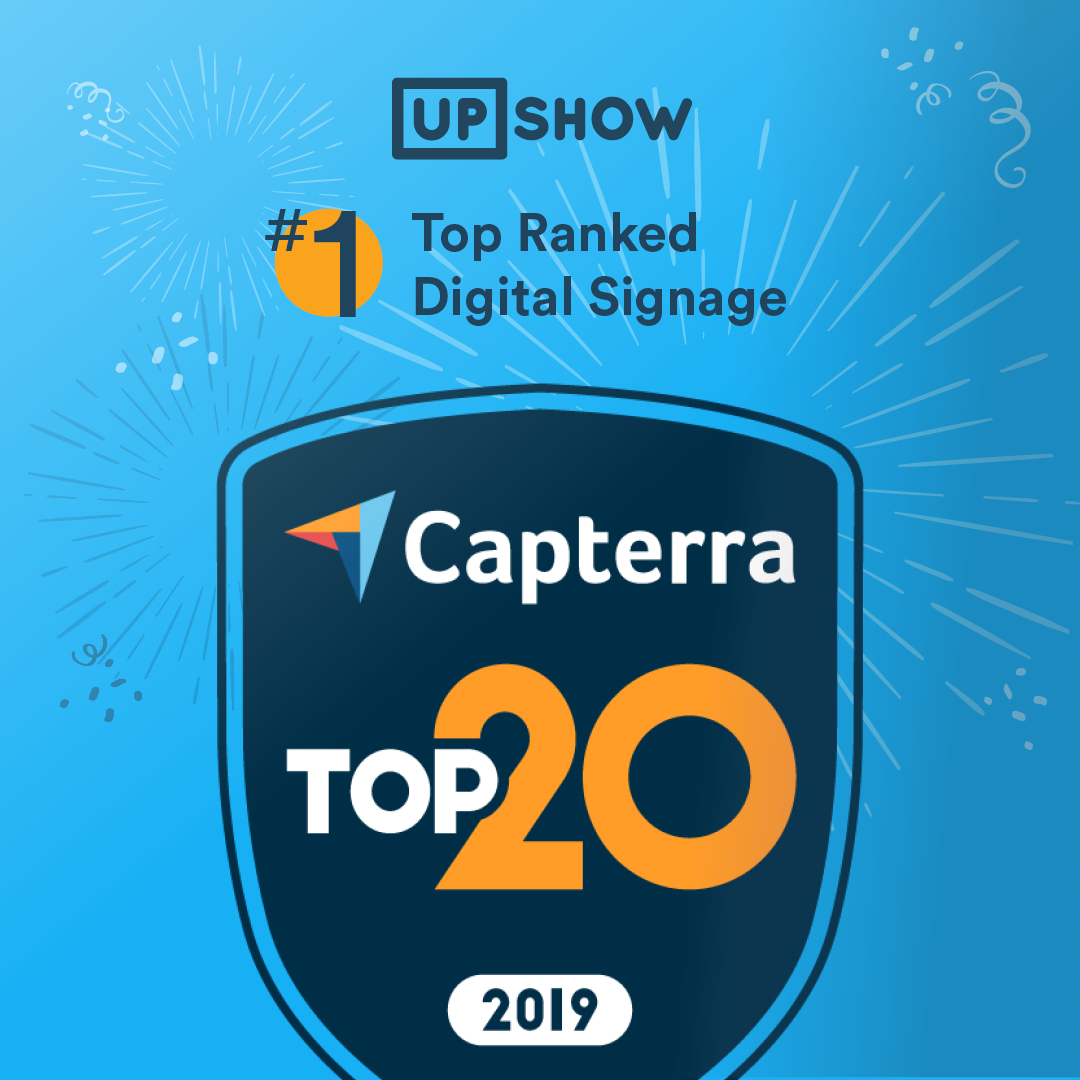 Capterra Top 20 Digital Signage Software