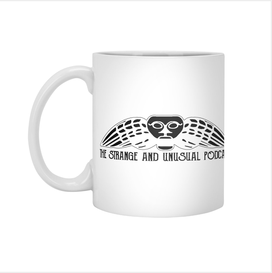 Podcast Title Mug - $13, purchase at this link