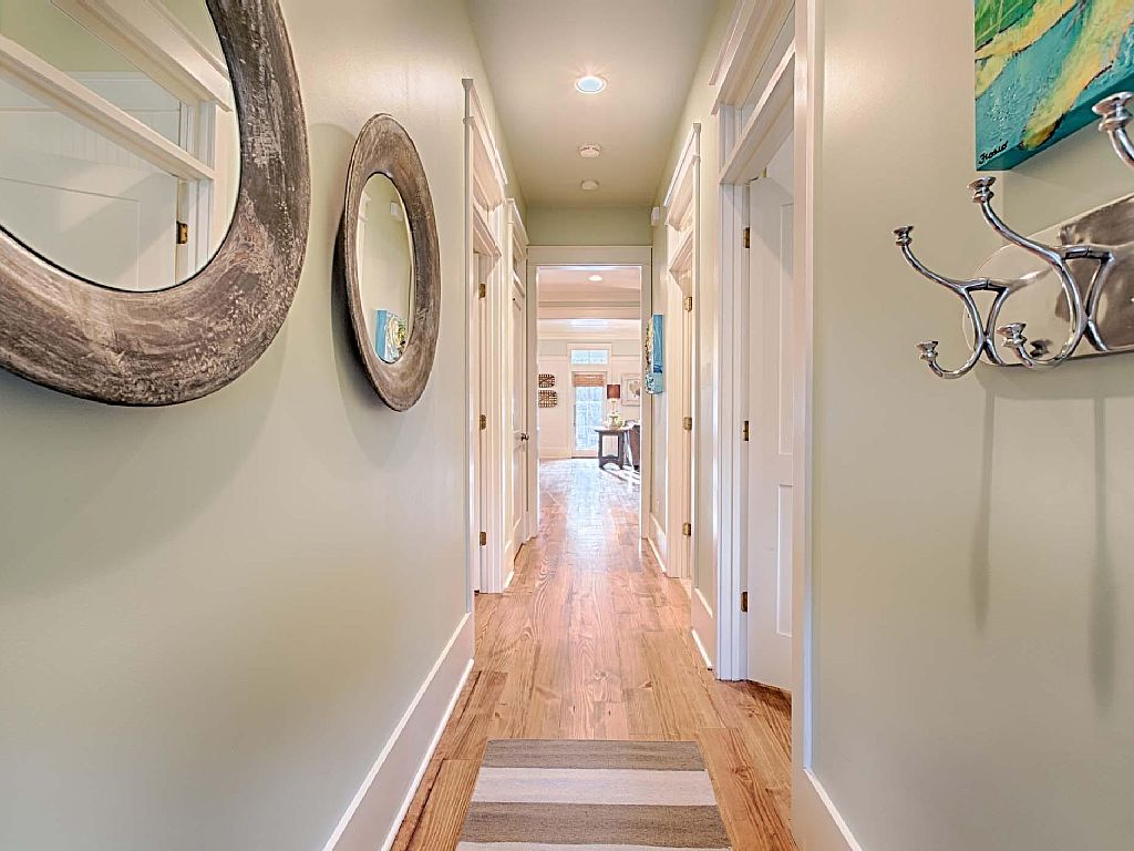 WaterColor Entry Hall - AFTER - Jennifer Taylor Design, Tallahassee, Florida