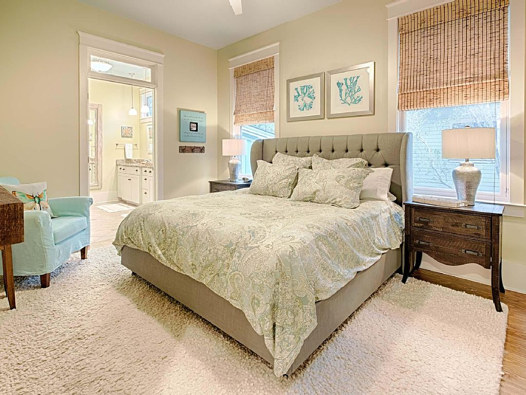 WaterColor Master Bedroom - AFTER - Jennifer Taylor Design