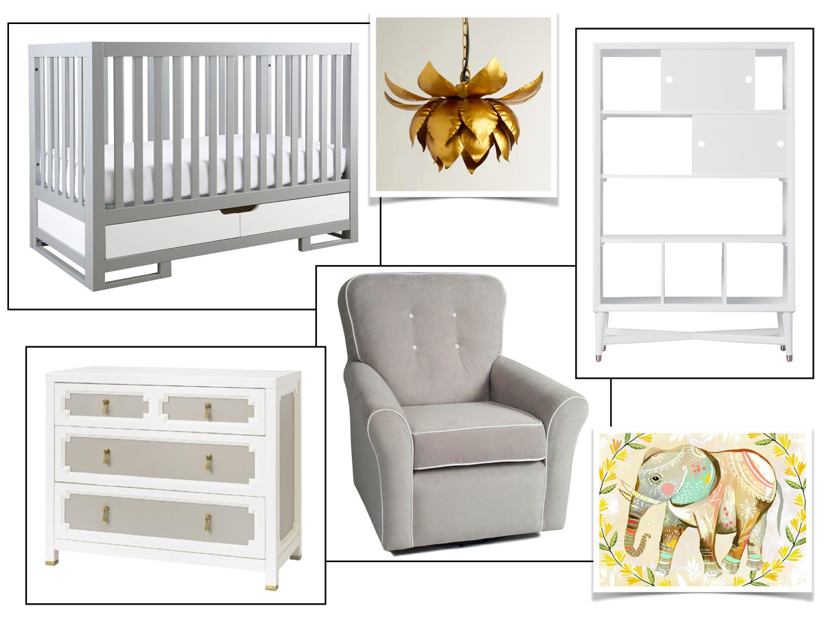 Nursery Presentation - Jennifer Taylor Design, Tallahassee, Florida