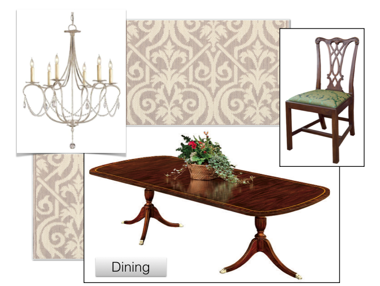 Jennifer Taylor Design - Dining Room Inspiration Page