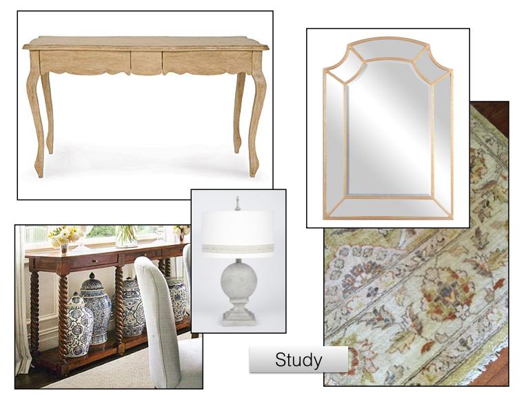 Jennifer Taylor Design - Study Inspiration Page