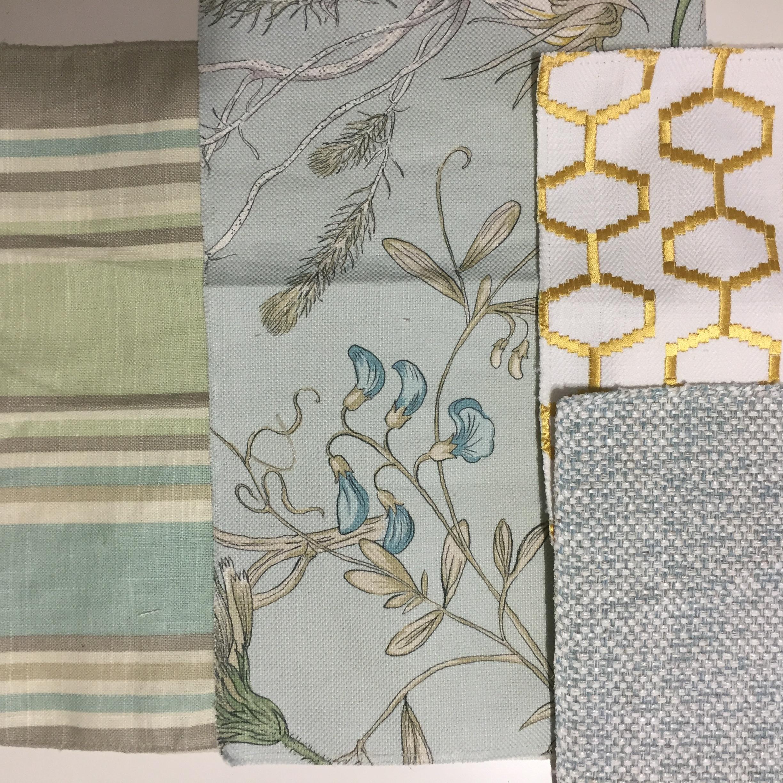 Guest Bedroom Fabrics