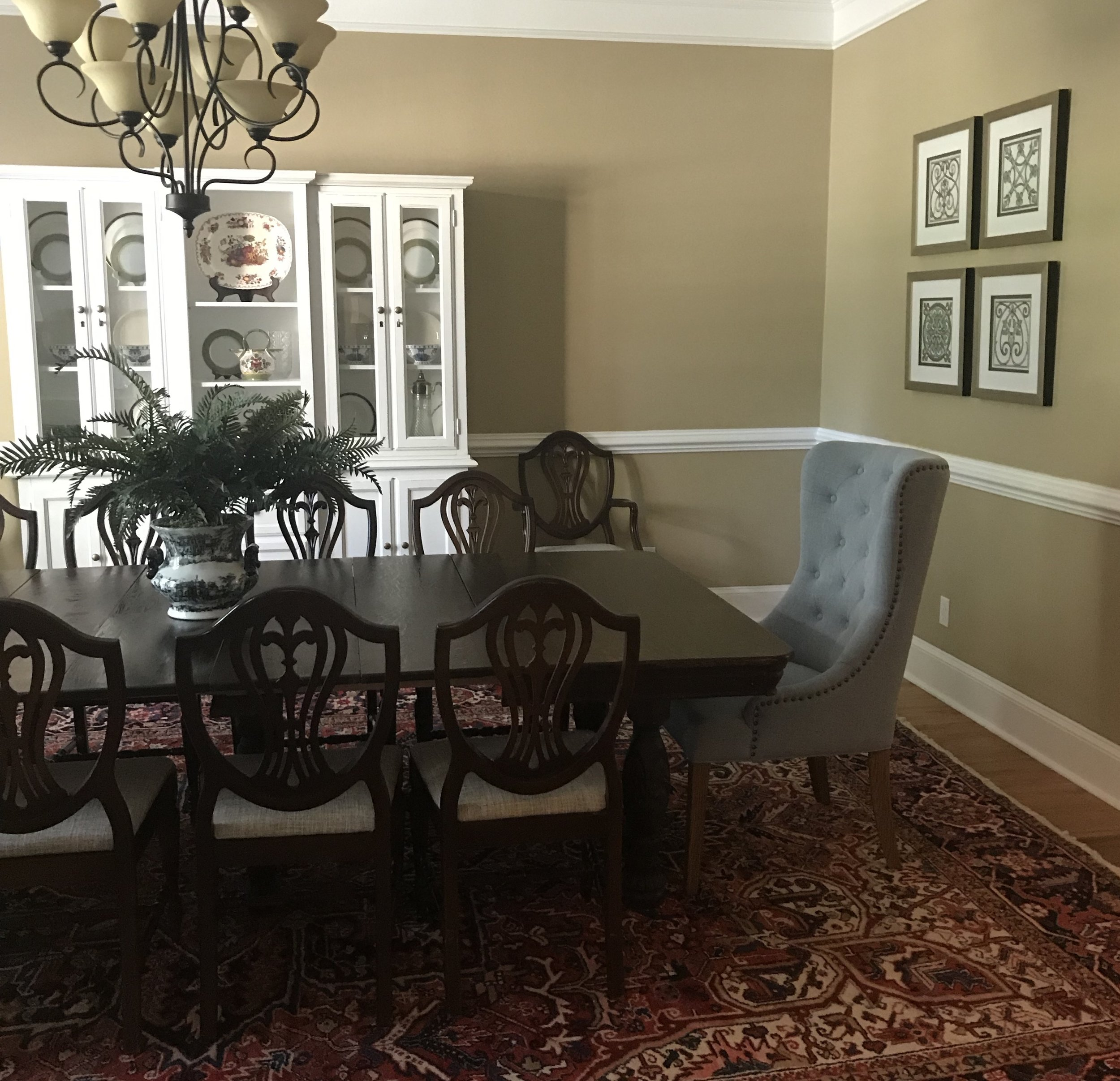 Jennifer Taylor Design - Tallahassee, Florida - Traditional Dining Room