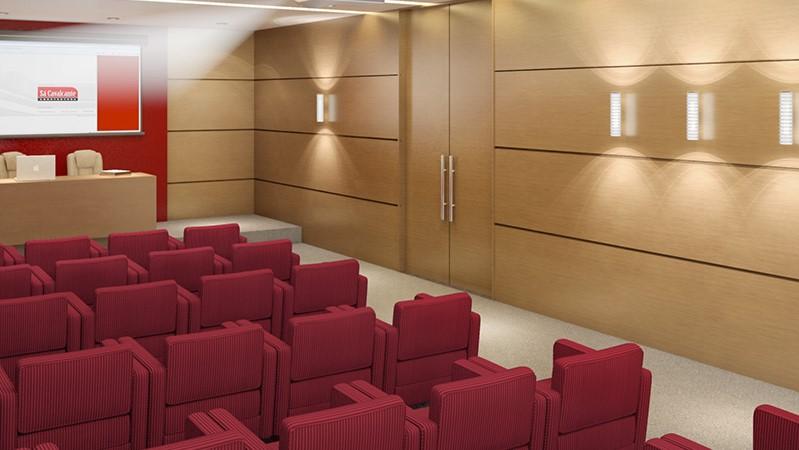 Sala de Conferências e Cursos