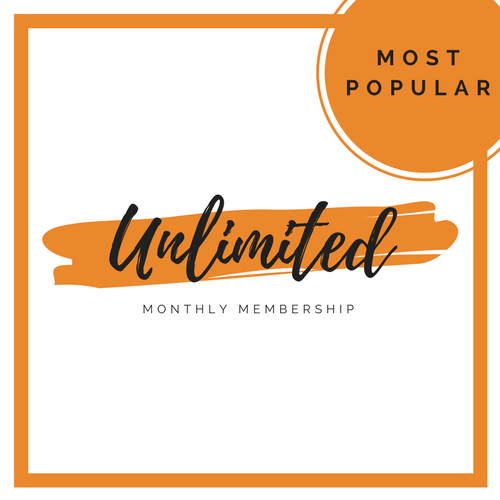 Unlimited Monthly Membership   (Most Popular)  $90 per month  Unlimited Classes  Automatic Monthly Payments  3 month Minimum  2 weeks notice to cancel