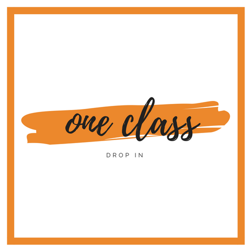 Single Class   $18  Mat and Towel rental included