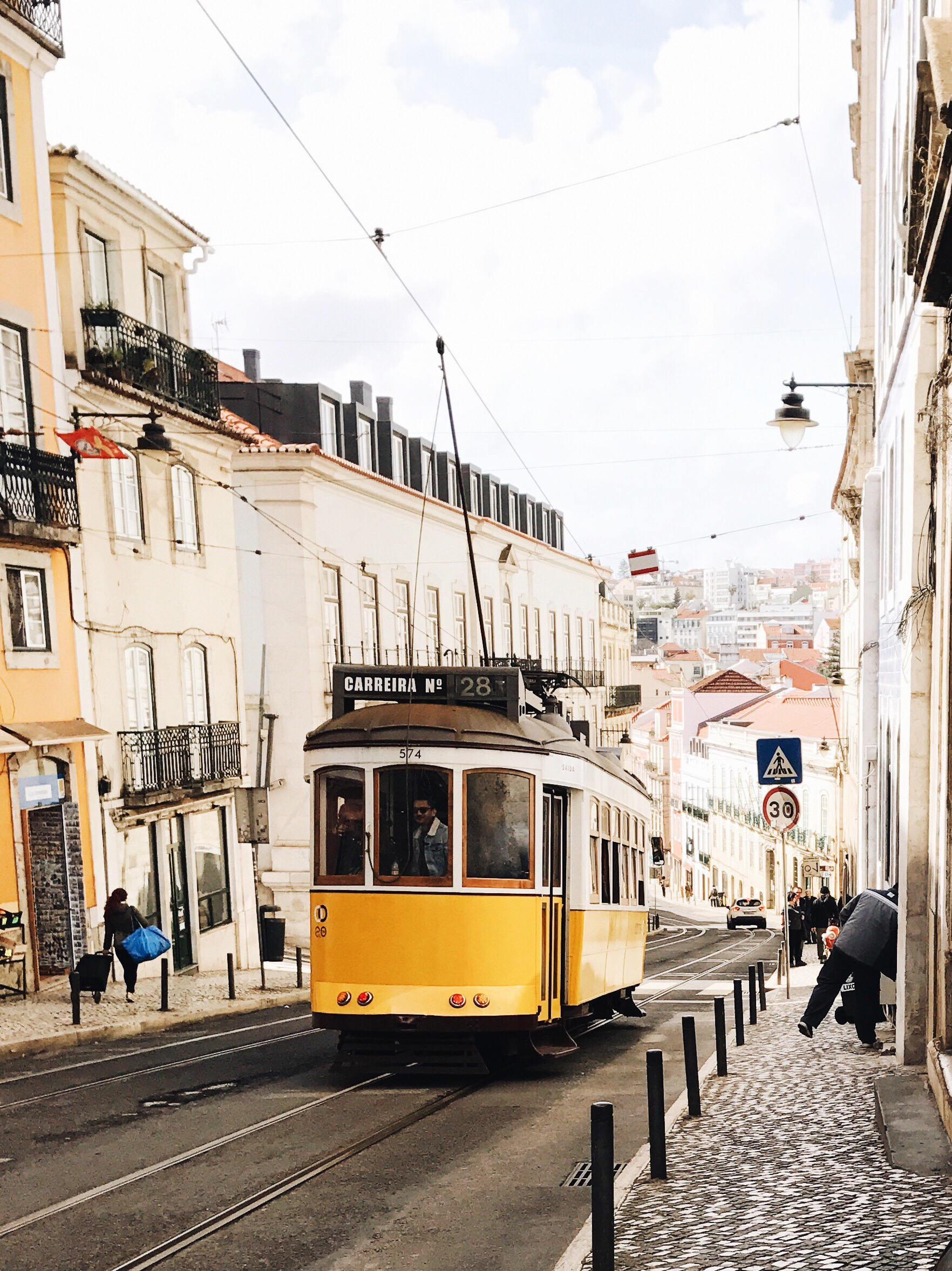 wandering the streets of lisbon