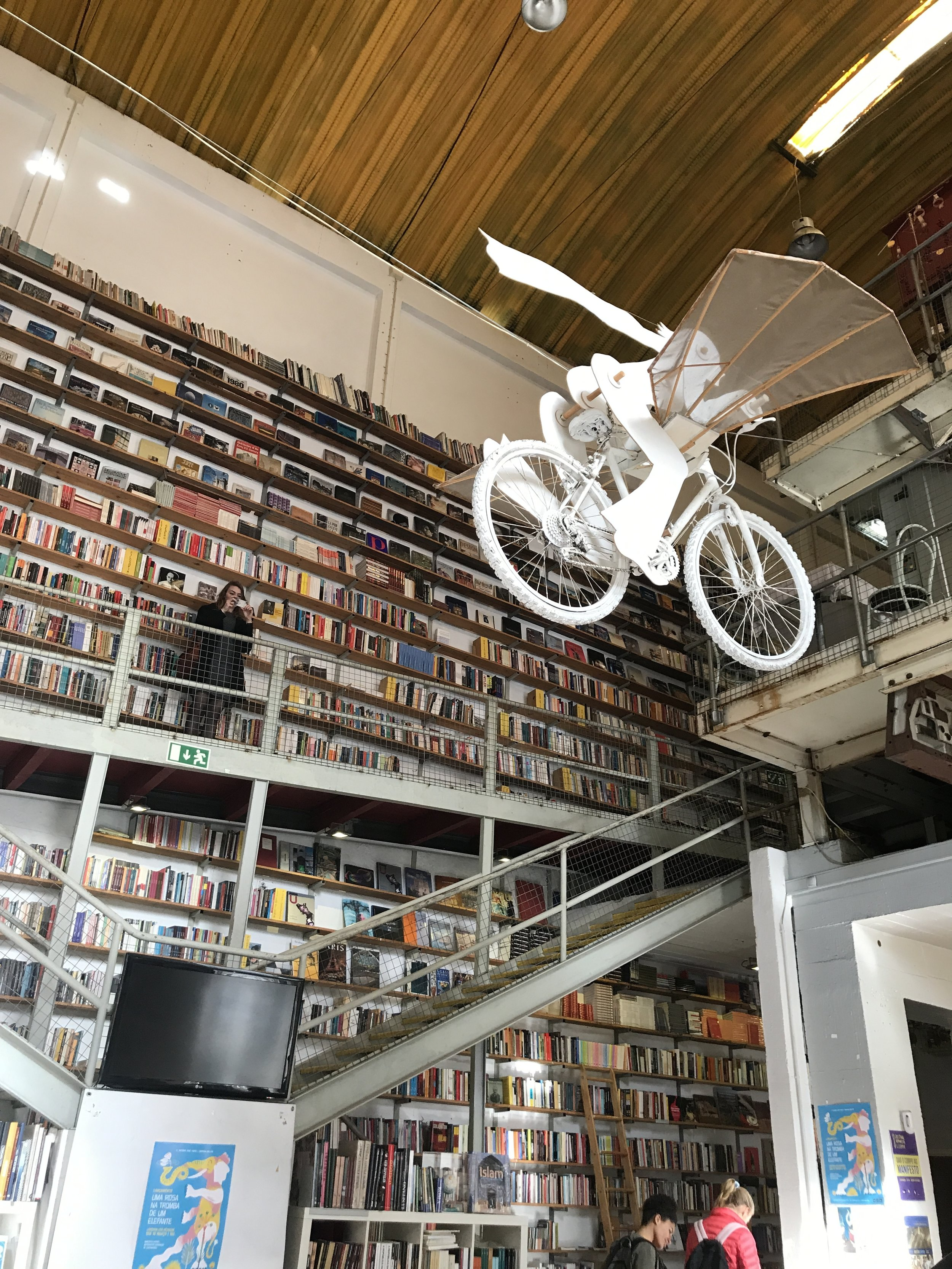bookstore in lxfactory