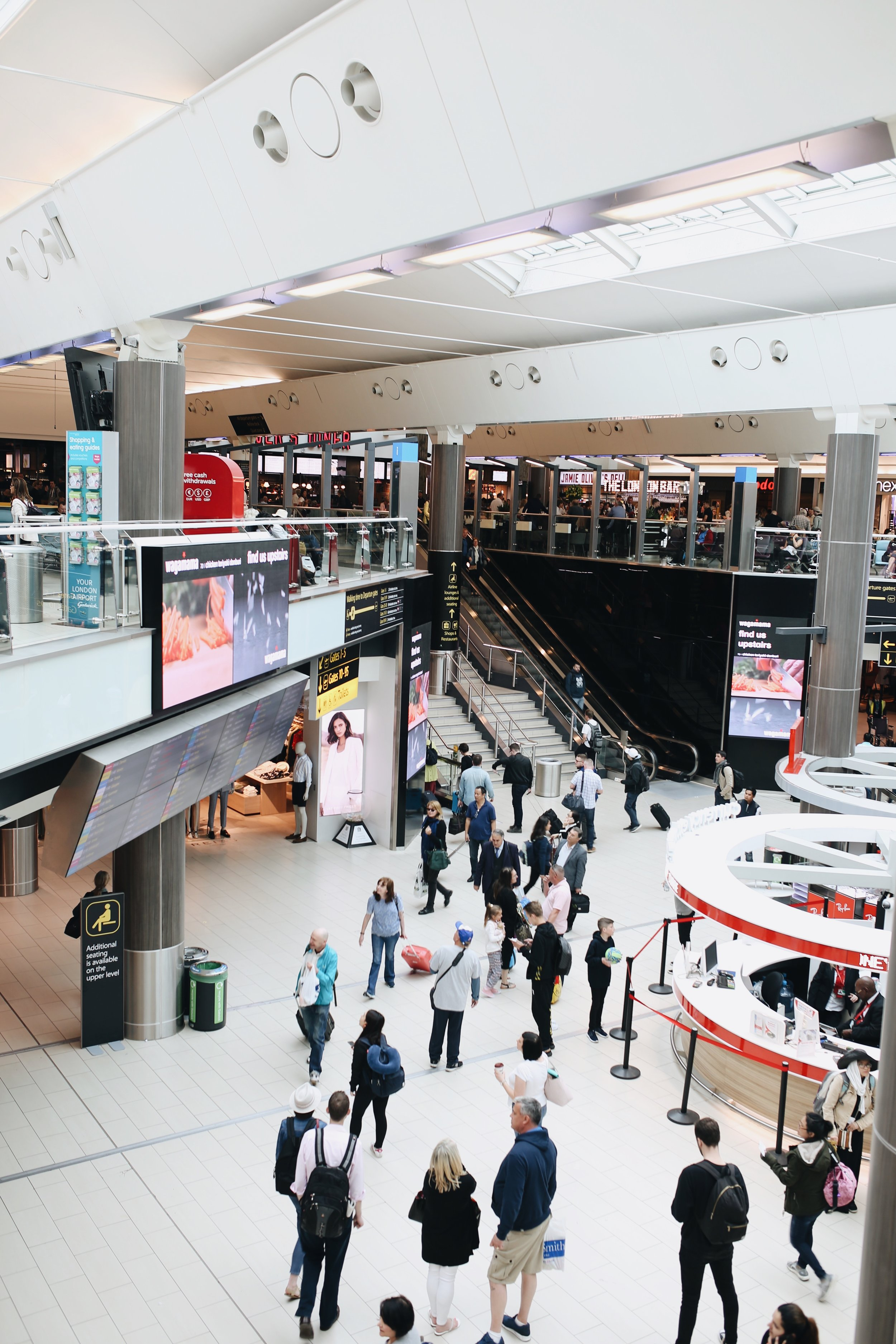 How to Survive a Layover at London Gatwick Airport -