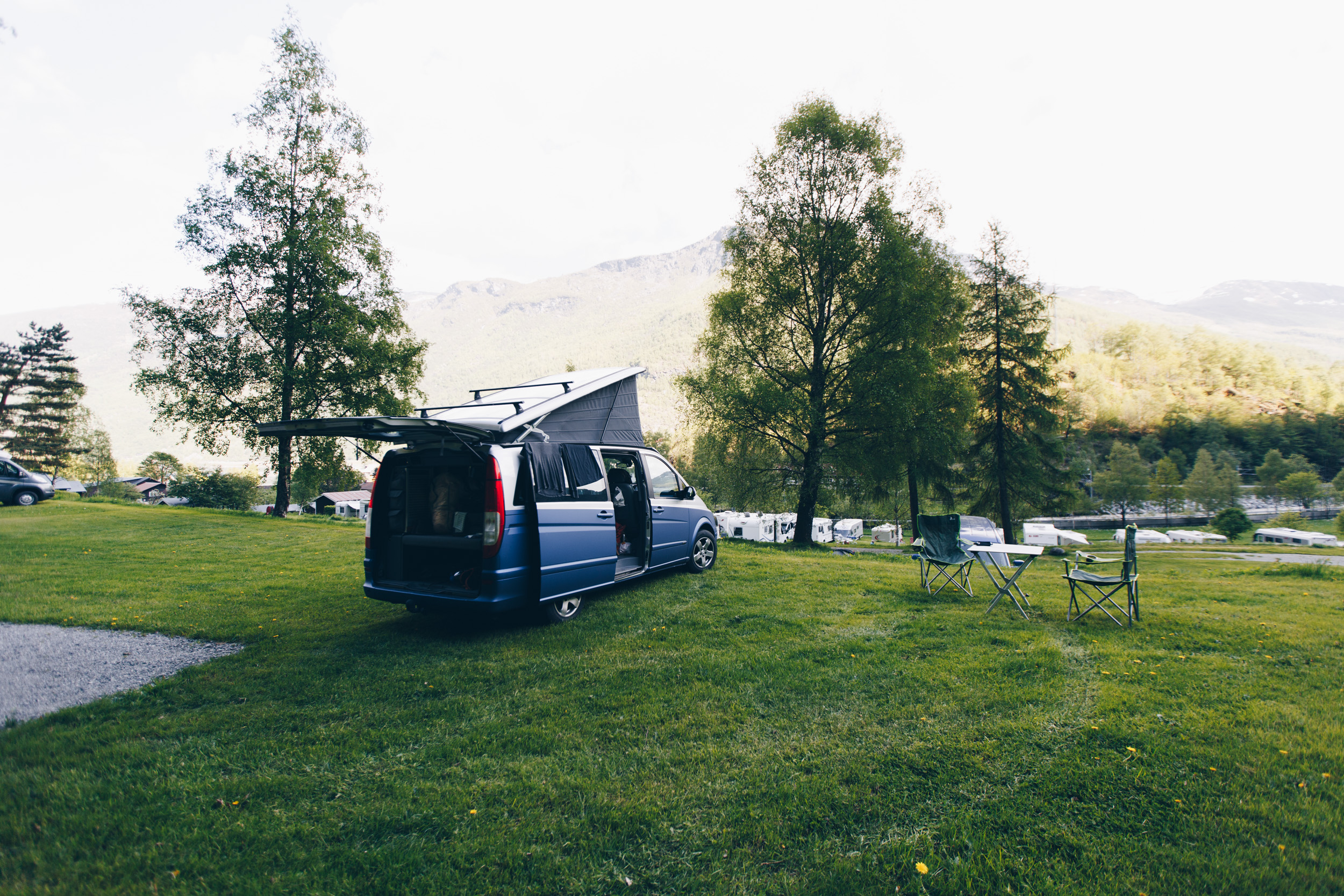 our site at flam campground