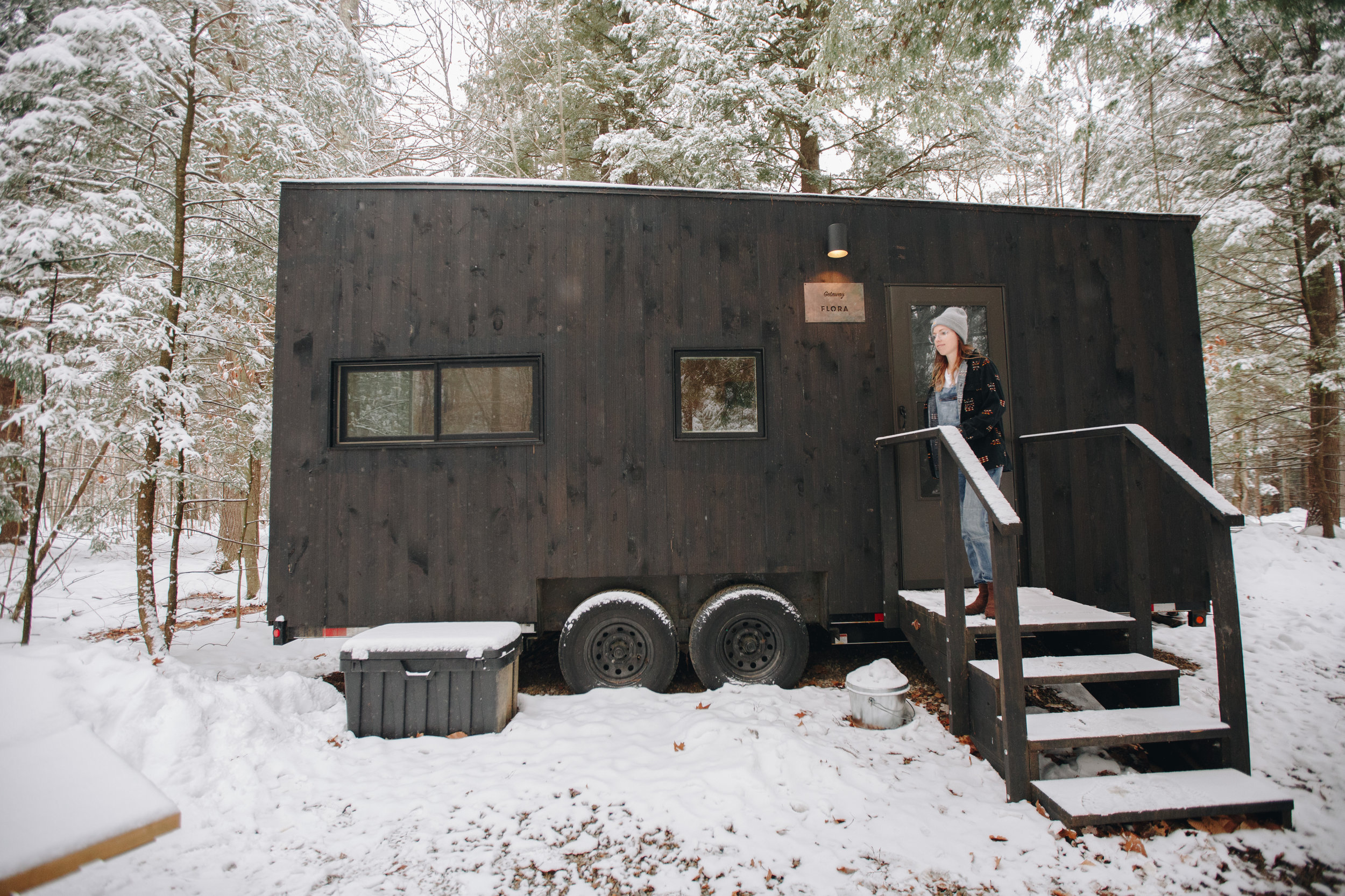 Woodsy Retreat with Getaway -