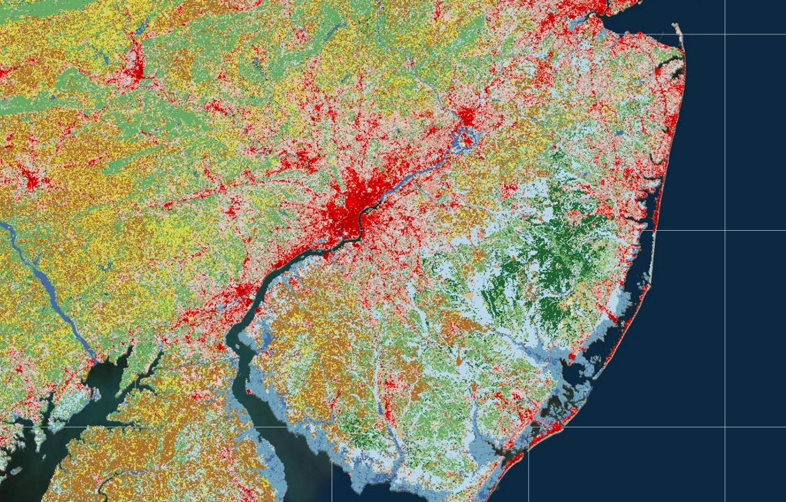 Pictured above: NLCD 2011 Landcover/Landuse data