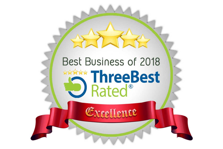 Best Business of 2017 & 2018 Award -