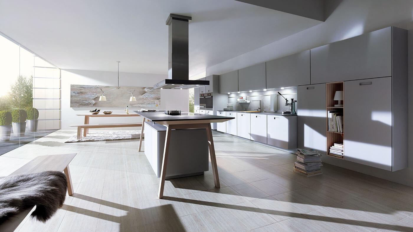 Satin Grey Next 125 Kitchen