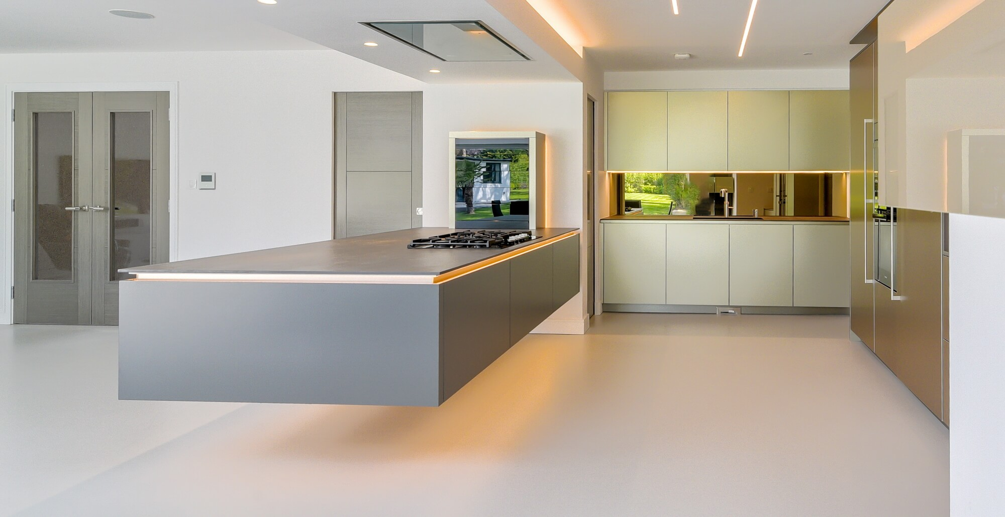 Floating or Levitating – Whatever you call it, this kitchen is ...