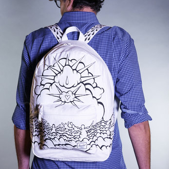"The ""Creator Cloud"" Backpack, designed by Rick Midler"