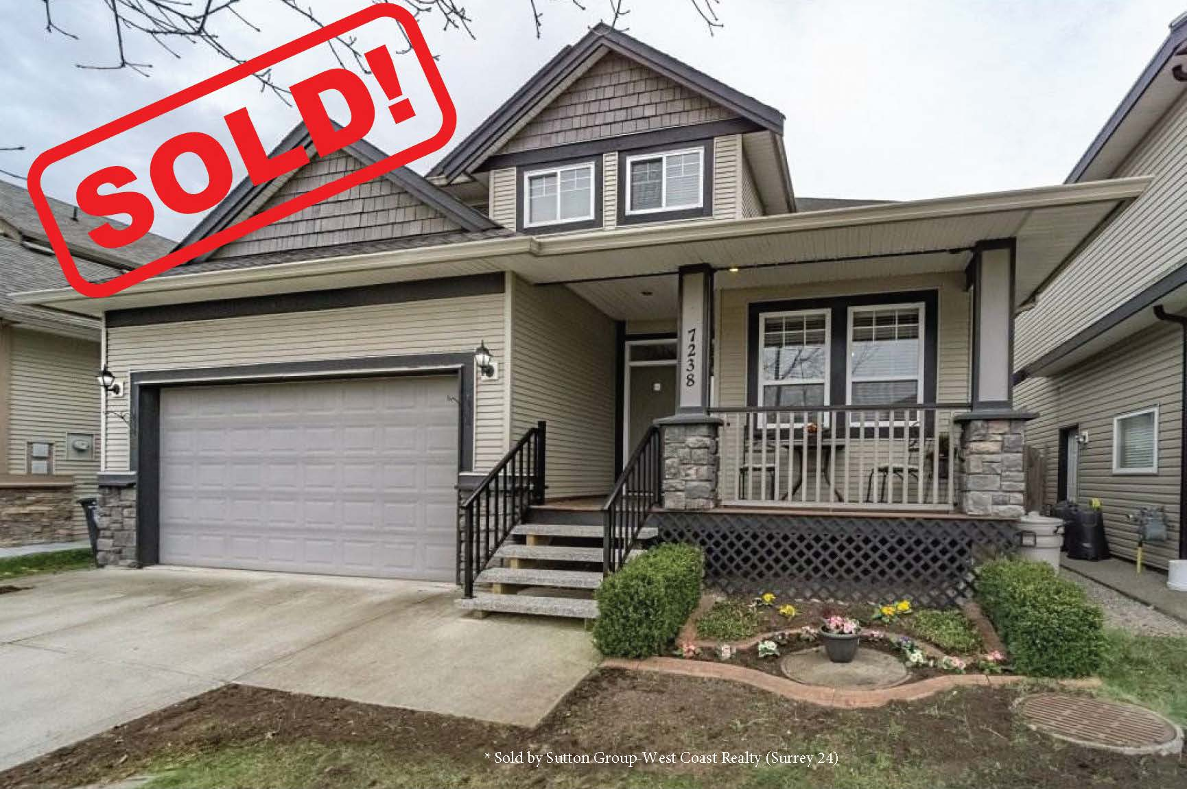 7238 196 Street   sold for: $960,000  6 Bed | 4 Bath | 3,080 SF