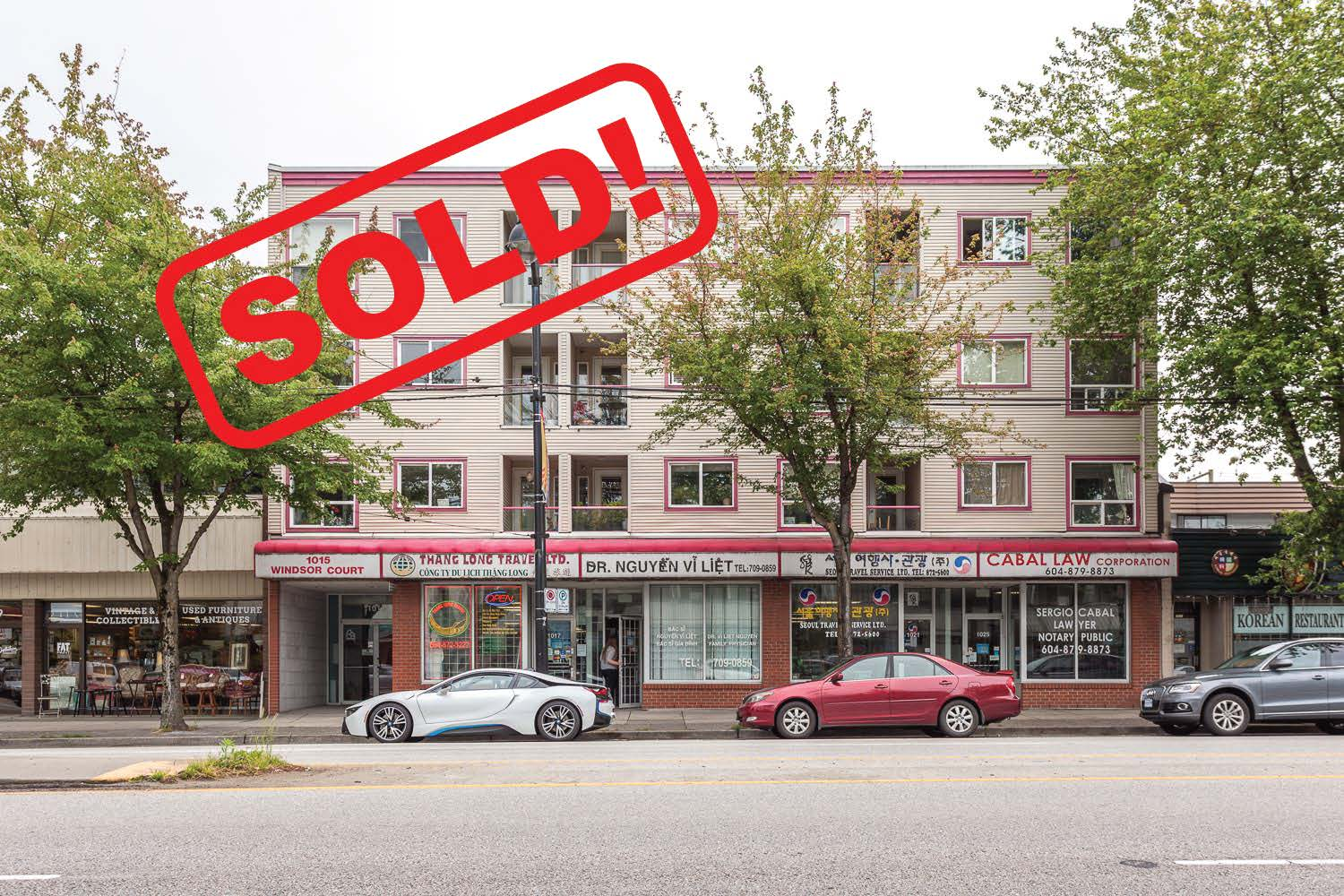 PH2-1015 Kingsway   SOLD FOR $525,000  2 Bed | 2 Bath | 822 SF