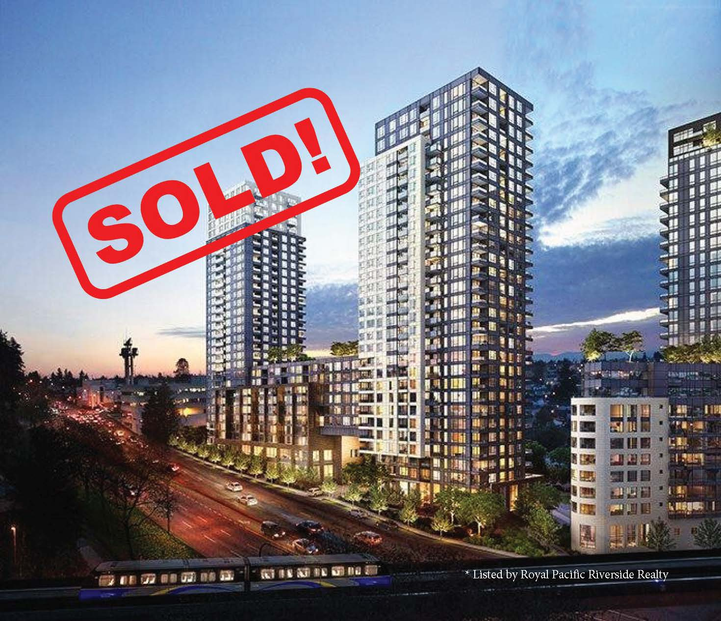 515-5665 Boundary Road   SOLD FOR: $475,000  1 BED | 1 BATH | 588 SF