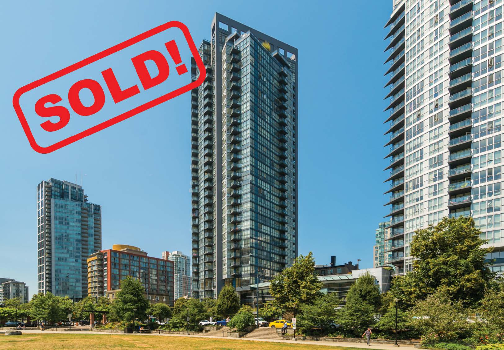 808-1199 Seymour Street   sold for: $651,000  1 BED | 1 BATH | 630 SF