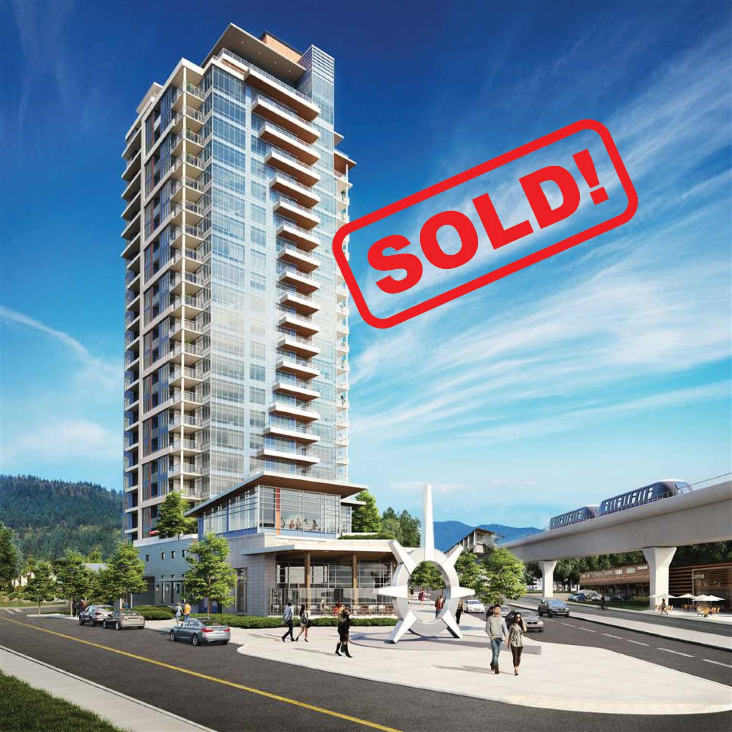 803-509 Clarke Road   sold for: $489,900  2 Bed | 1 Bath | 643 SF