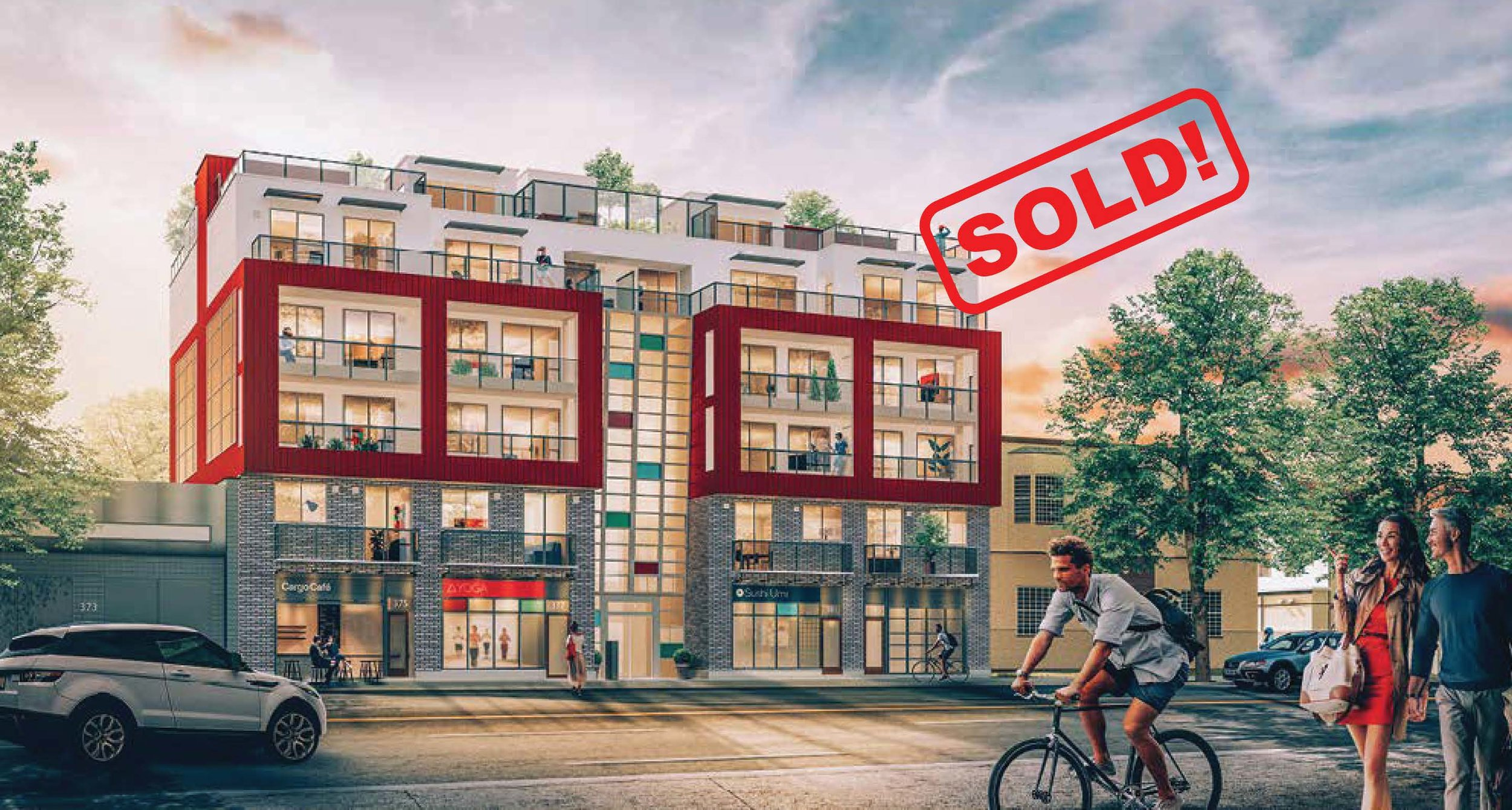 406-379 East Broadway St   sold for: $599,900  1 Bed | 1 Bath |545 SF