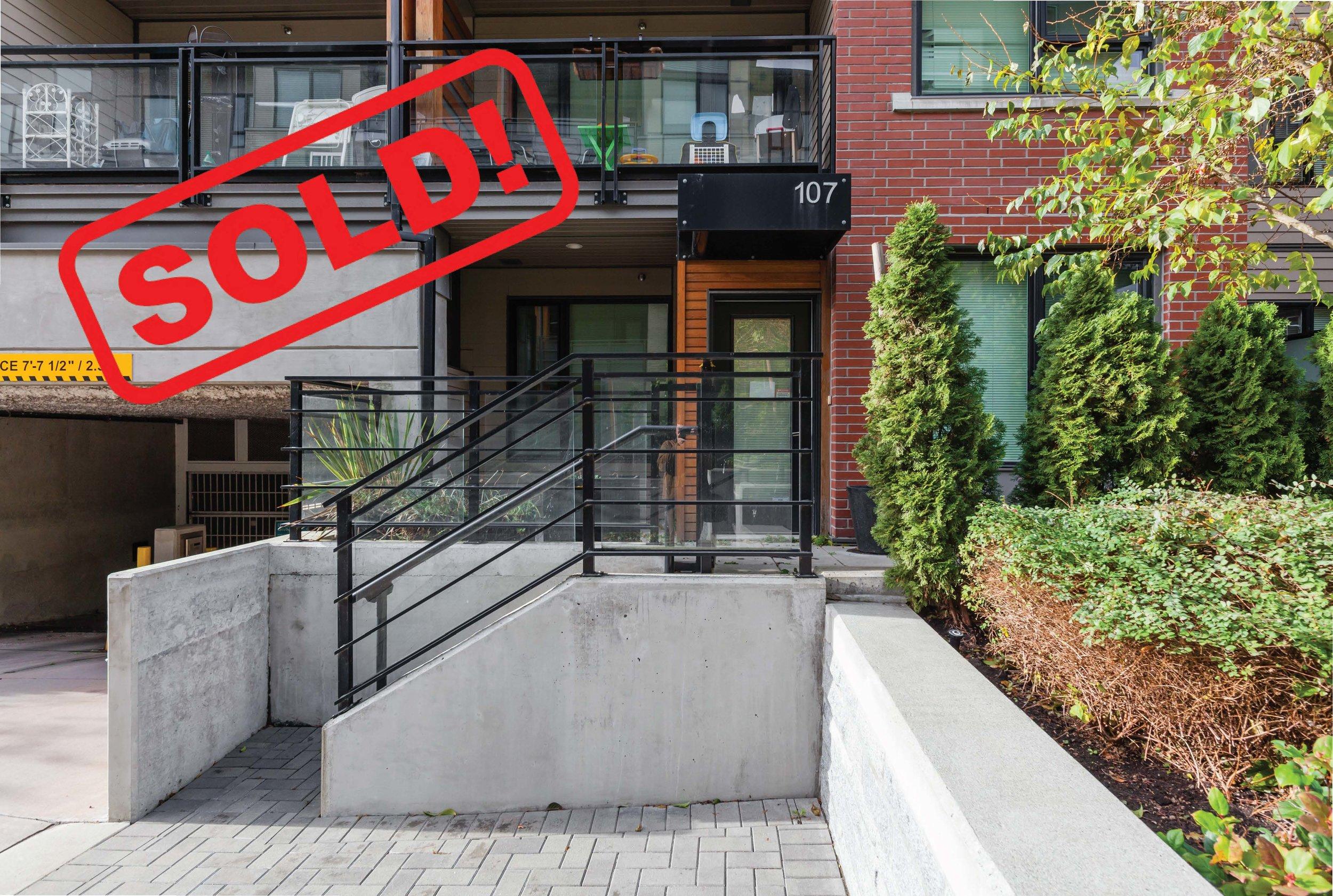 107-3133 Riverwalk Avenue   sold for: $703,000  2 Bed | 2 Bath | 893 SF