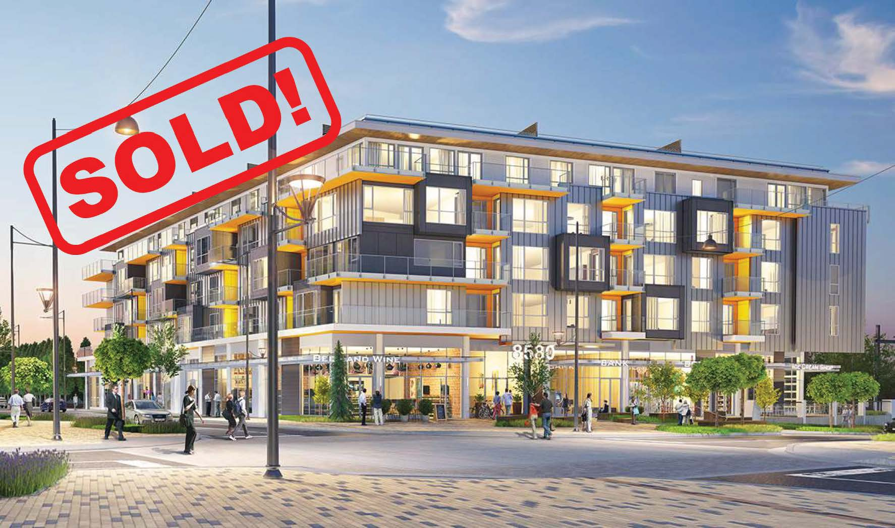 501-8580 River District Crescent   sold for: $512,000  1 Bed | 1 Bath | 635 SF
