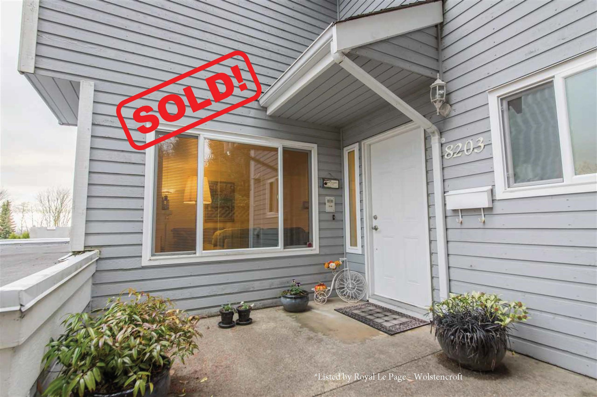 8203 Strauss Drive   SOLD FOR: $812,000  3 BED | 3 BATH | 1,827 SF