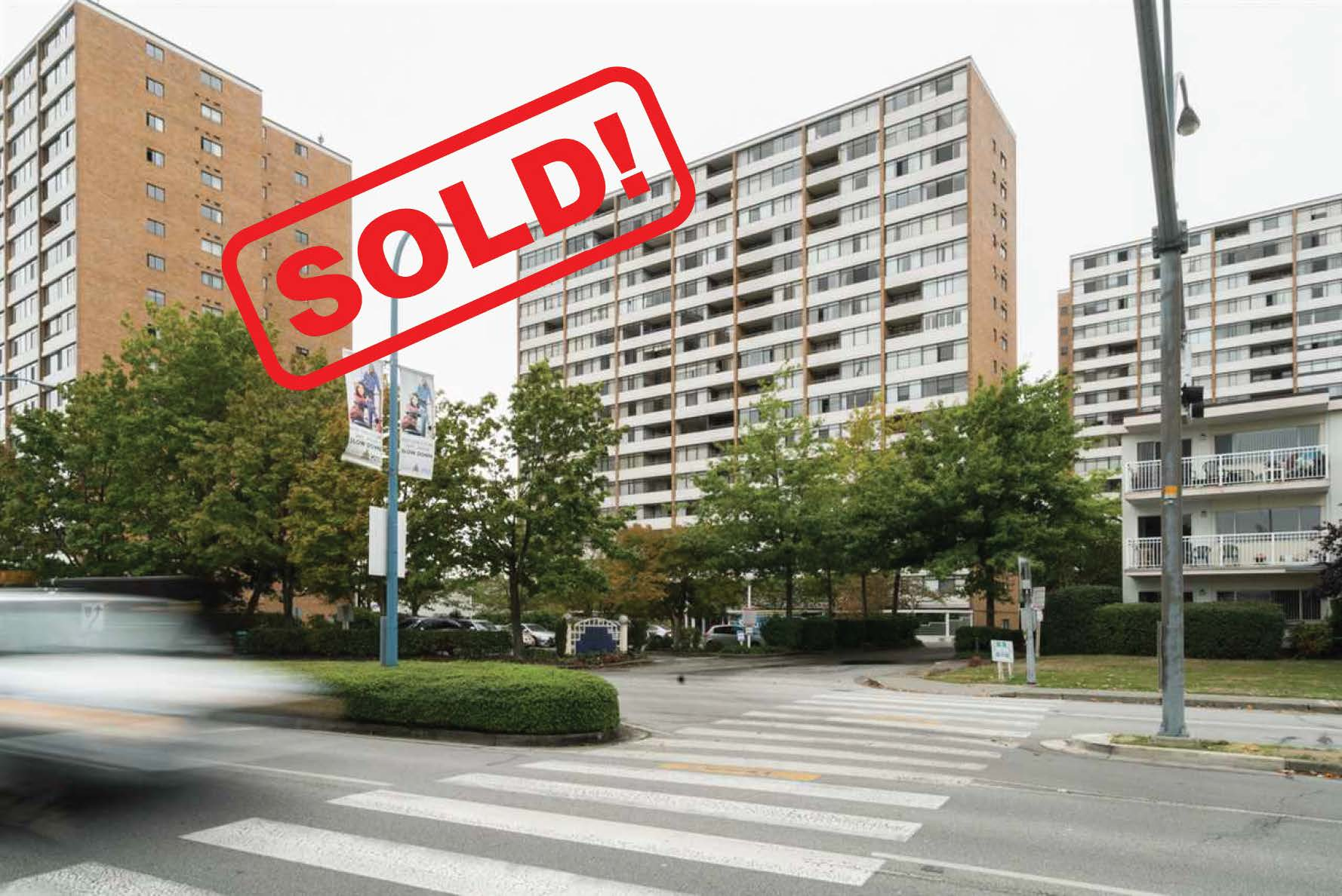 403-6631 MINORU BOULEVARD     SOLD FOR: $315,000  1 BED | 1 BATH | 650 SF