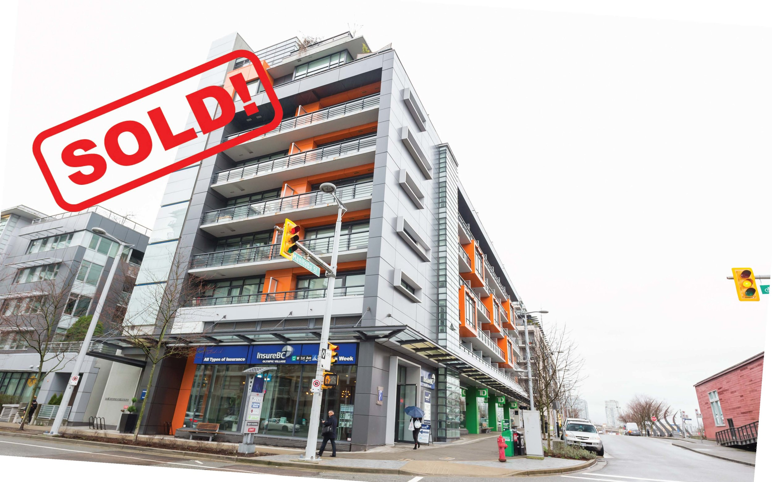 805-123 W. 1st AVENUE     SOLD FOR: $1,335,000  2 BED | 2 BATH | 1,007 SF