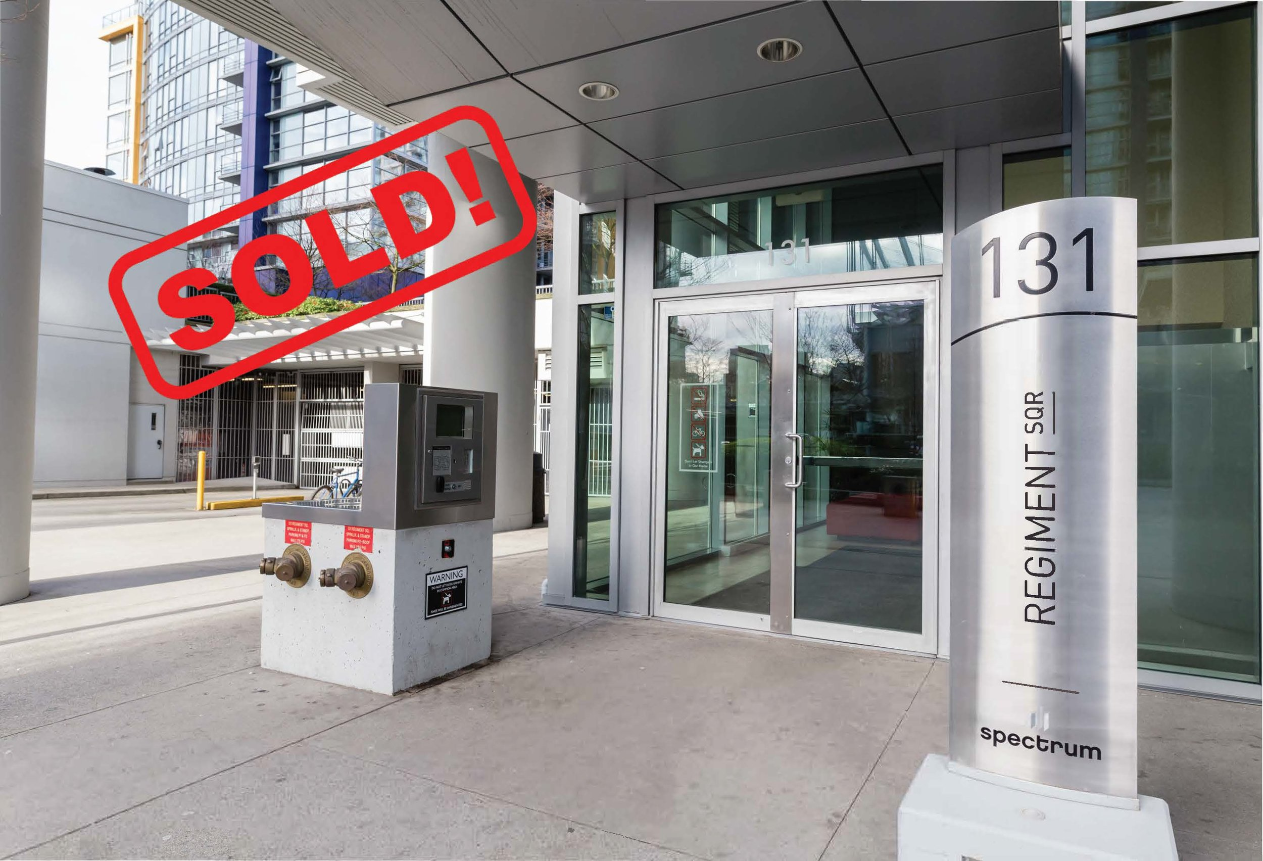 1105-131 REGIMENT SQUARE     SOLD FOR: $760,000  2 BED | 1 BATH | 757 SF