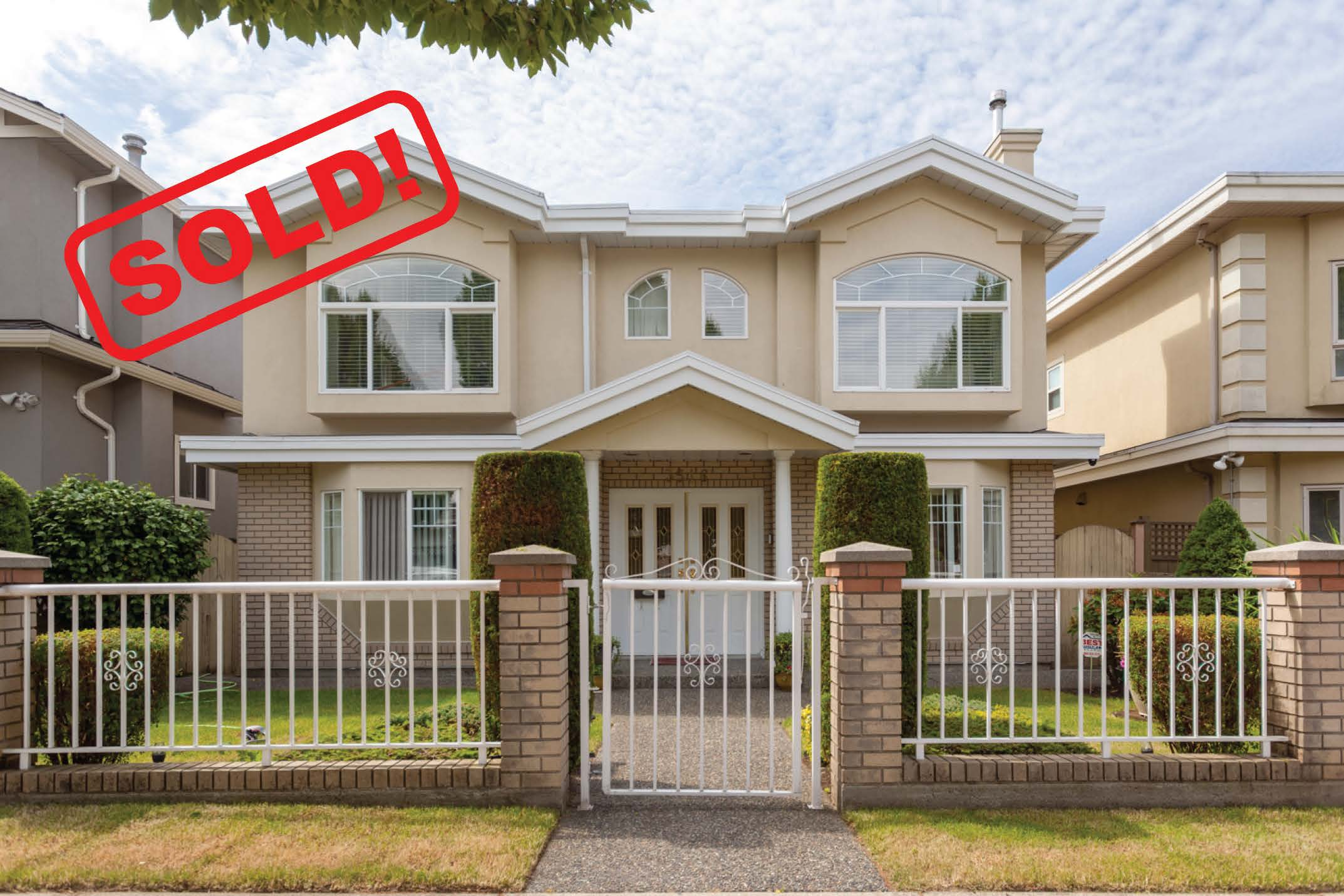 3516 PETERSHAM AVENUE     SOLD FOR: $1,630,000  6 BED | 4 BATH | 2,082 SF