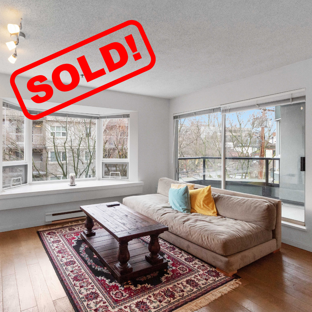 304-1925 W. 2ND AVENUE SOLD FOR:  $630,000   1 BED | 1 BATH | 661 SF