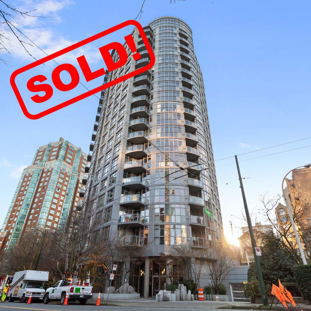 1804-1050 SMITHE STREET SOLD FOR:  $630,000   1 BED | 1 BATH | 674 SF