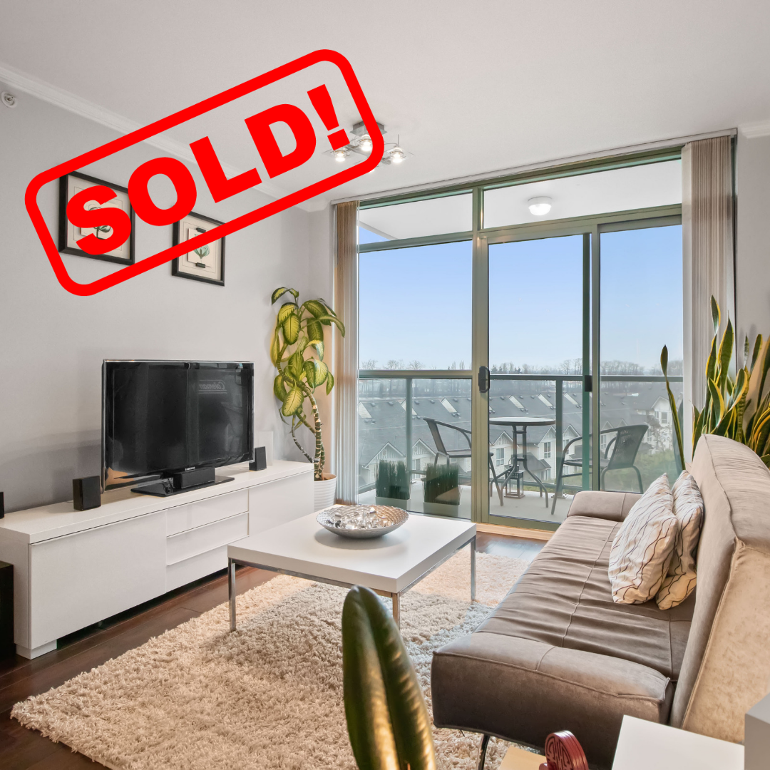 605-2763 CHANDLERY PLACE SOLD FOR:  $402,000   1 BED | 1 BATH | 554 SF