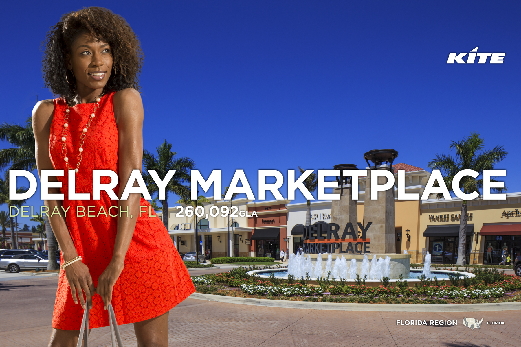 DELRAY MARKETPLACE - Delray Beach, FL  On-site Photography / Promotional Signage / Leasing Collateral