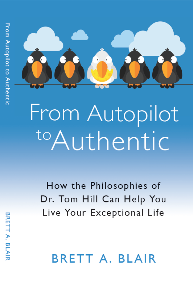 $14.95 - In this autobiography + personal development book, Brett Blair boldly shares his life story, and then coaches the reader on the principals of best-life living. You will turn the last page equipped with tools and philosophies for moving from autopilot to authentic.