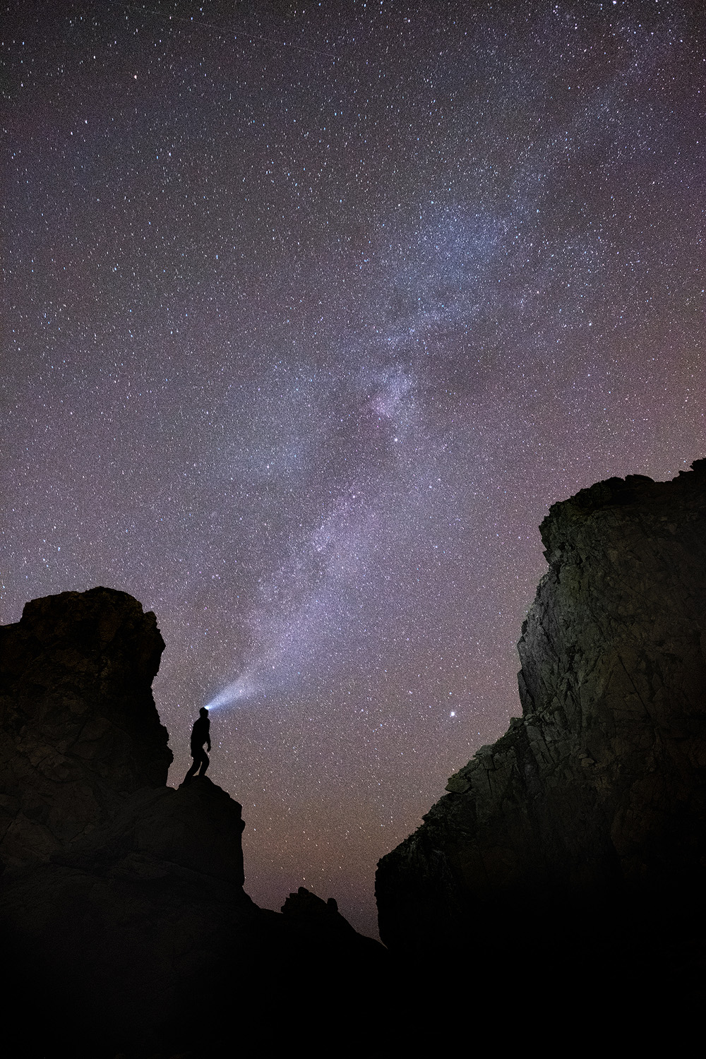 The Shoulder of Giants   A self portrait of the Milky Way above Cabo da Roca on Portugal's west coast