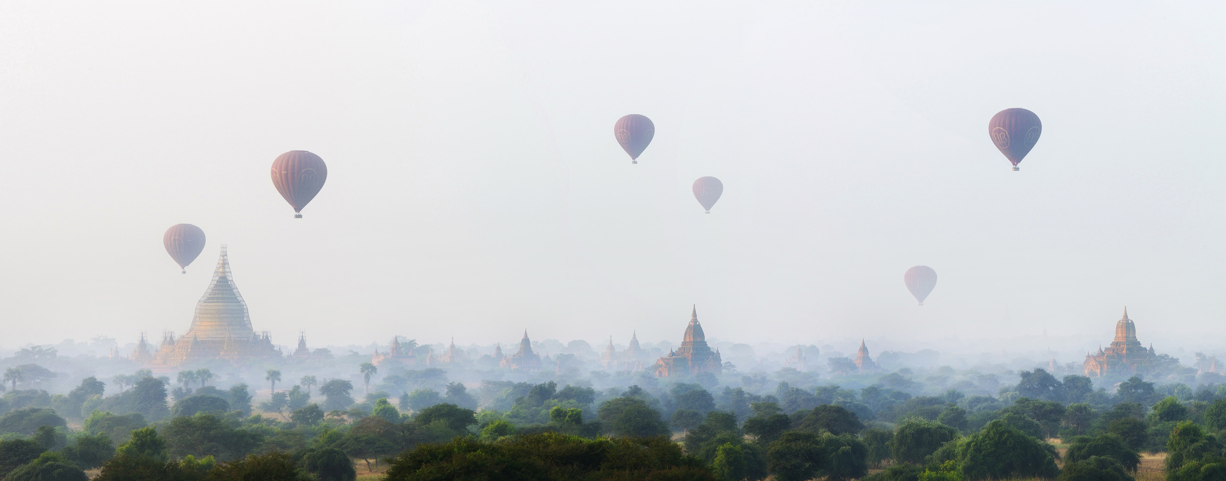Pythada Sunrise   The terrace of Pythanda temple in the centre of the plain of Bagan is a huge and free of a lot of the crowds that gather at many of the other temples for sunrise.