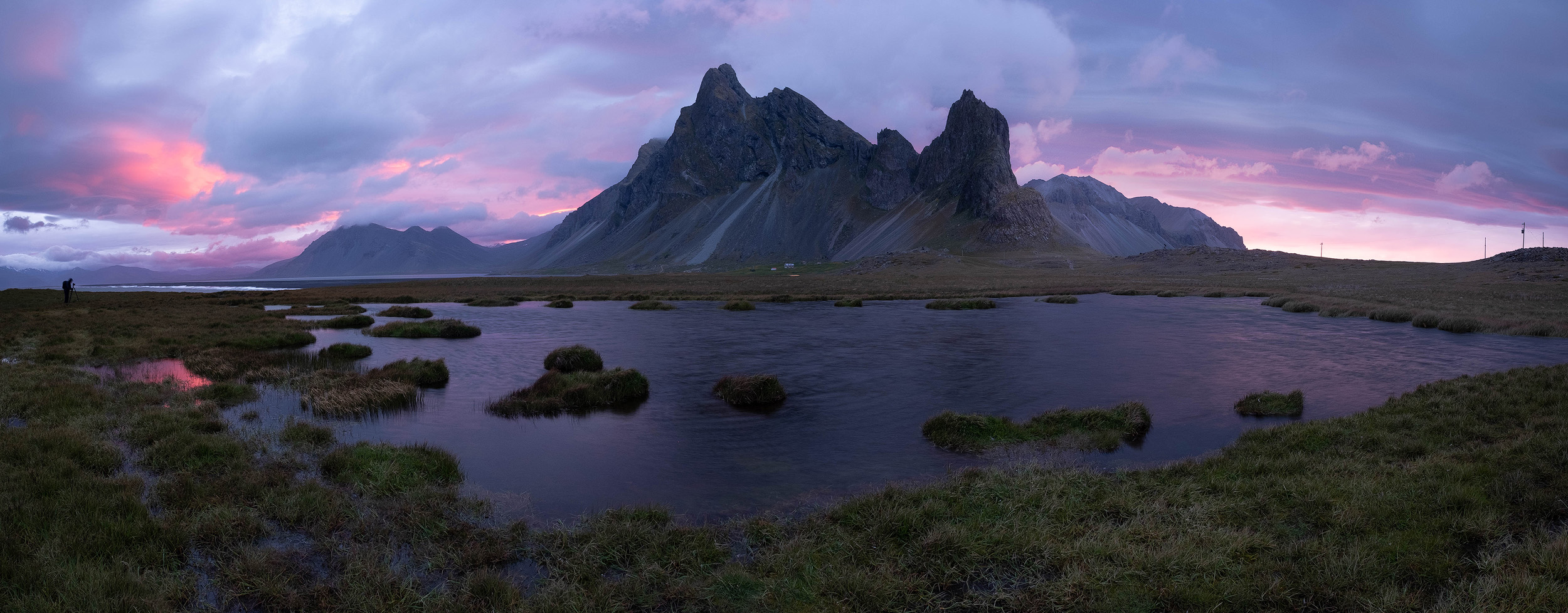 Another panorama of that incredible sunset.