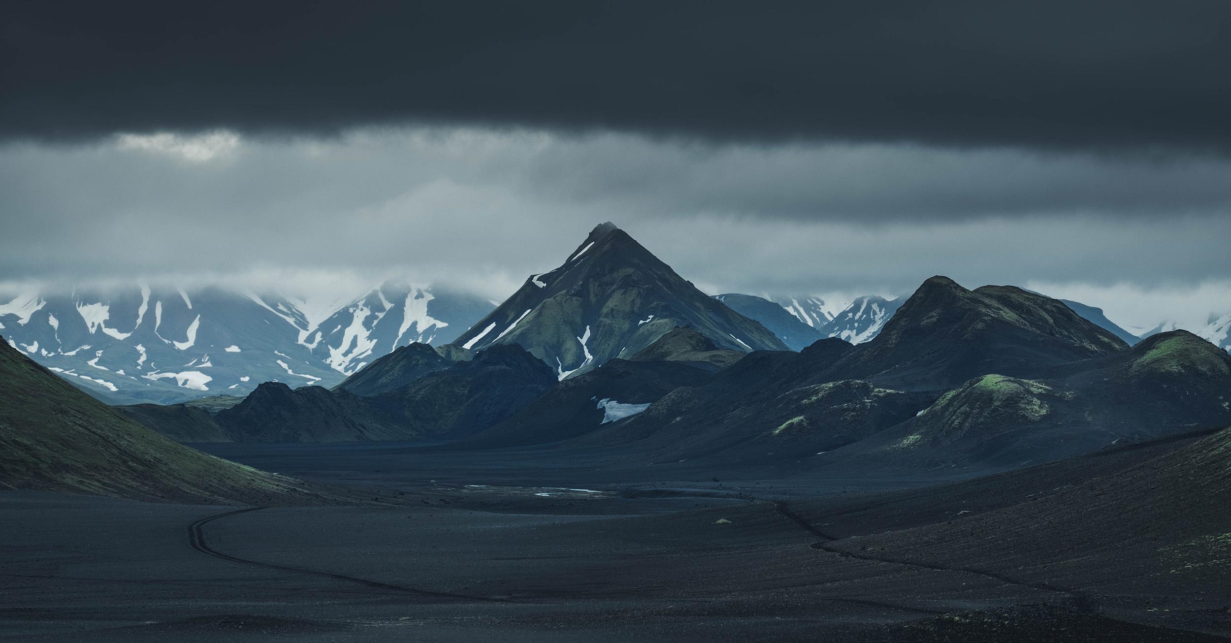The peak of Storasula seen from Enstrur