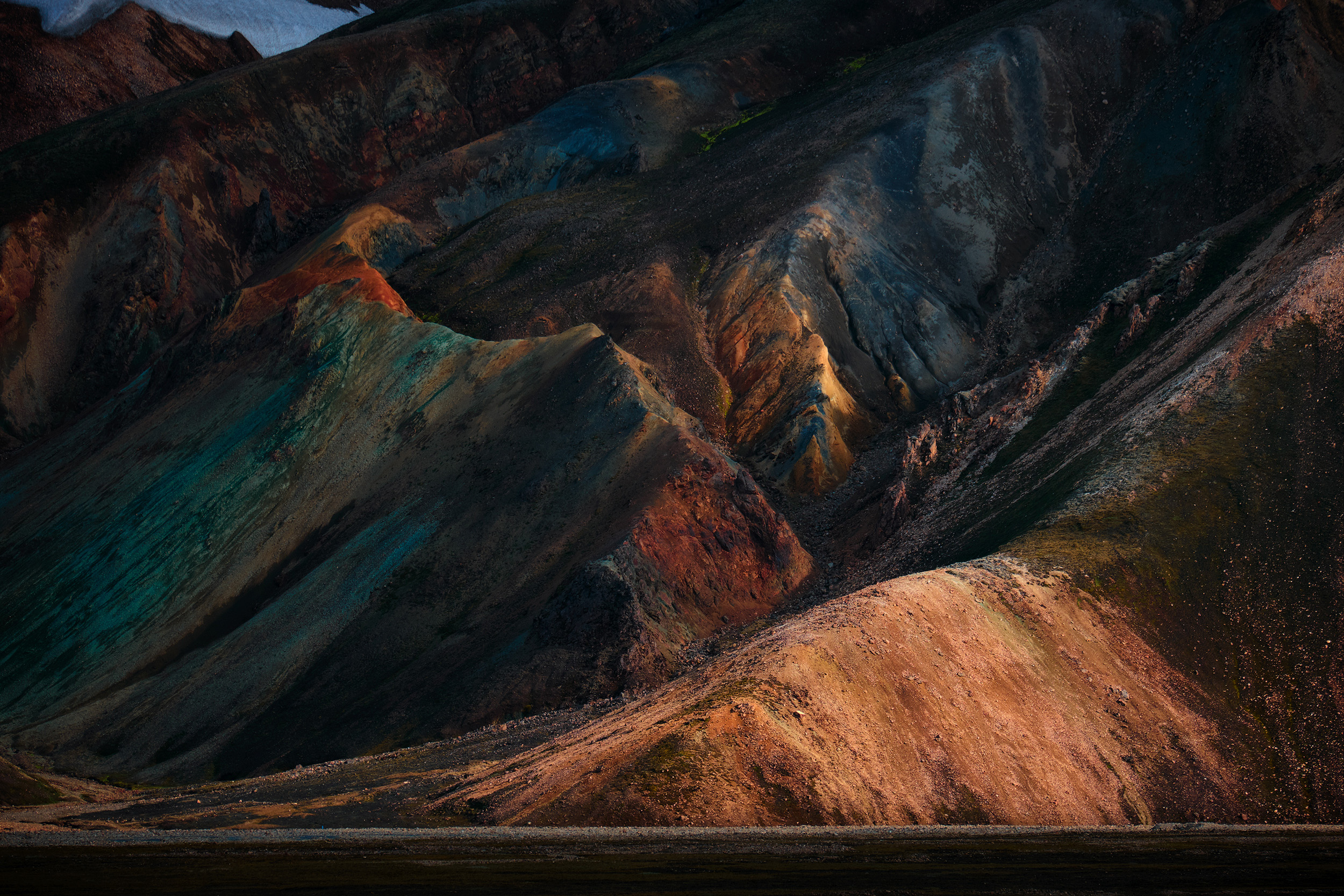 The incredible rhyolite hills of Landmannalaugar