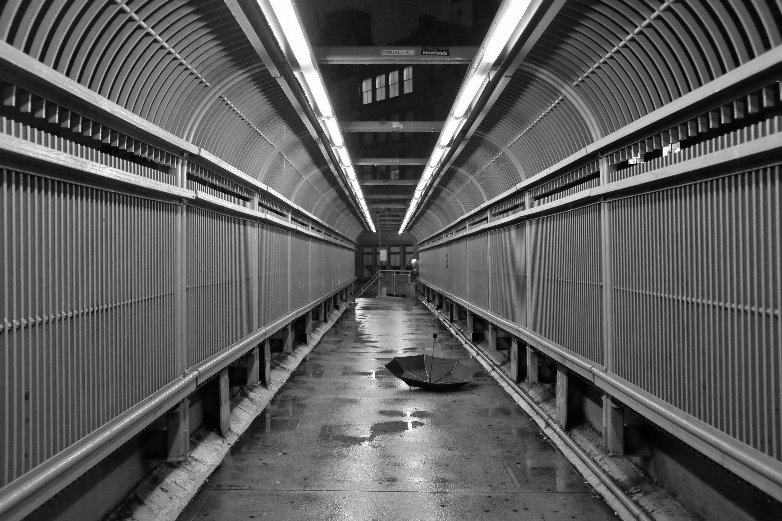 Laight Street Footbridge. TriBeCa. New York City. 2016.