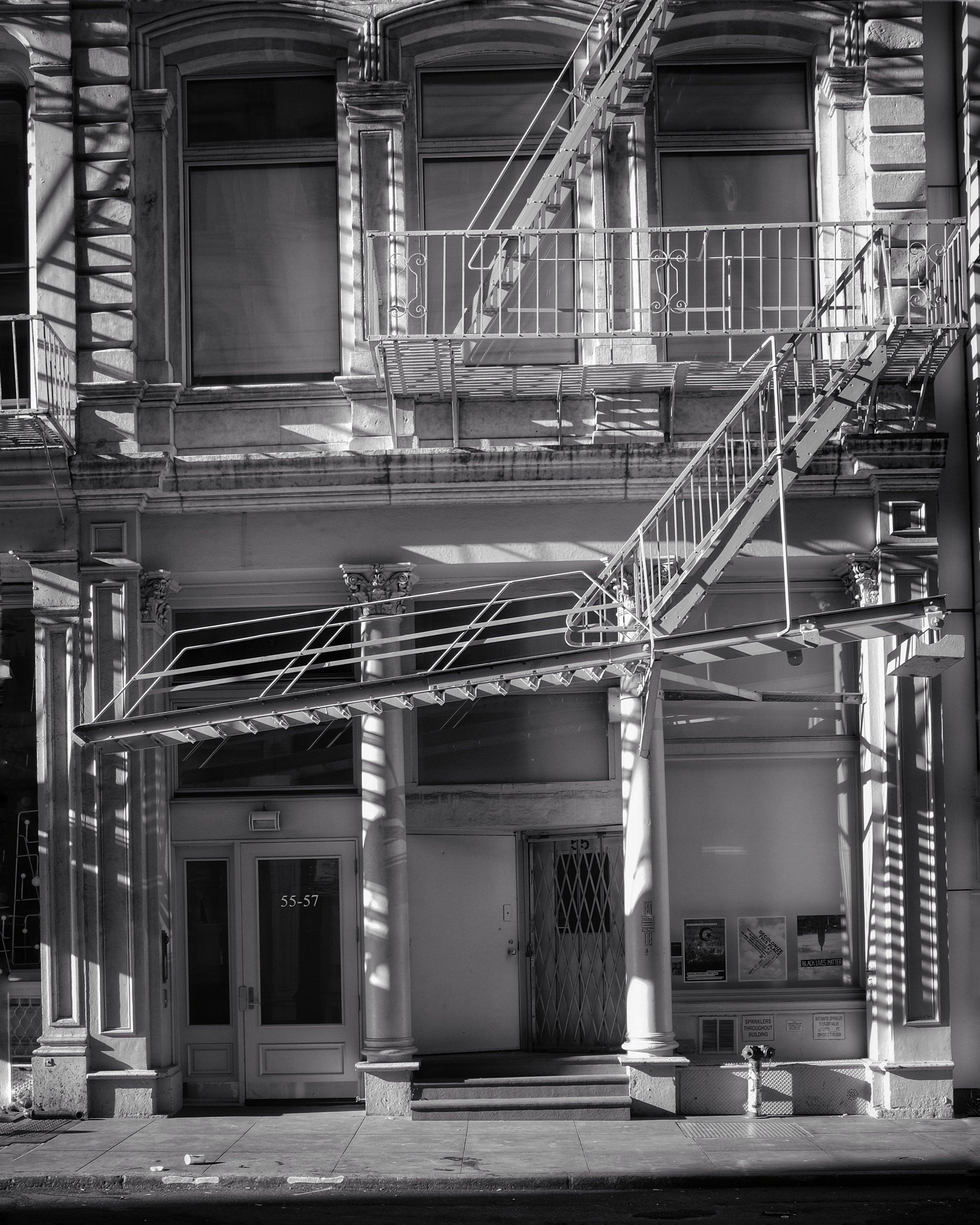 Walker Street. TriBeCa. New York City. 2016.