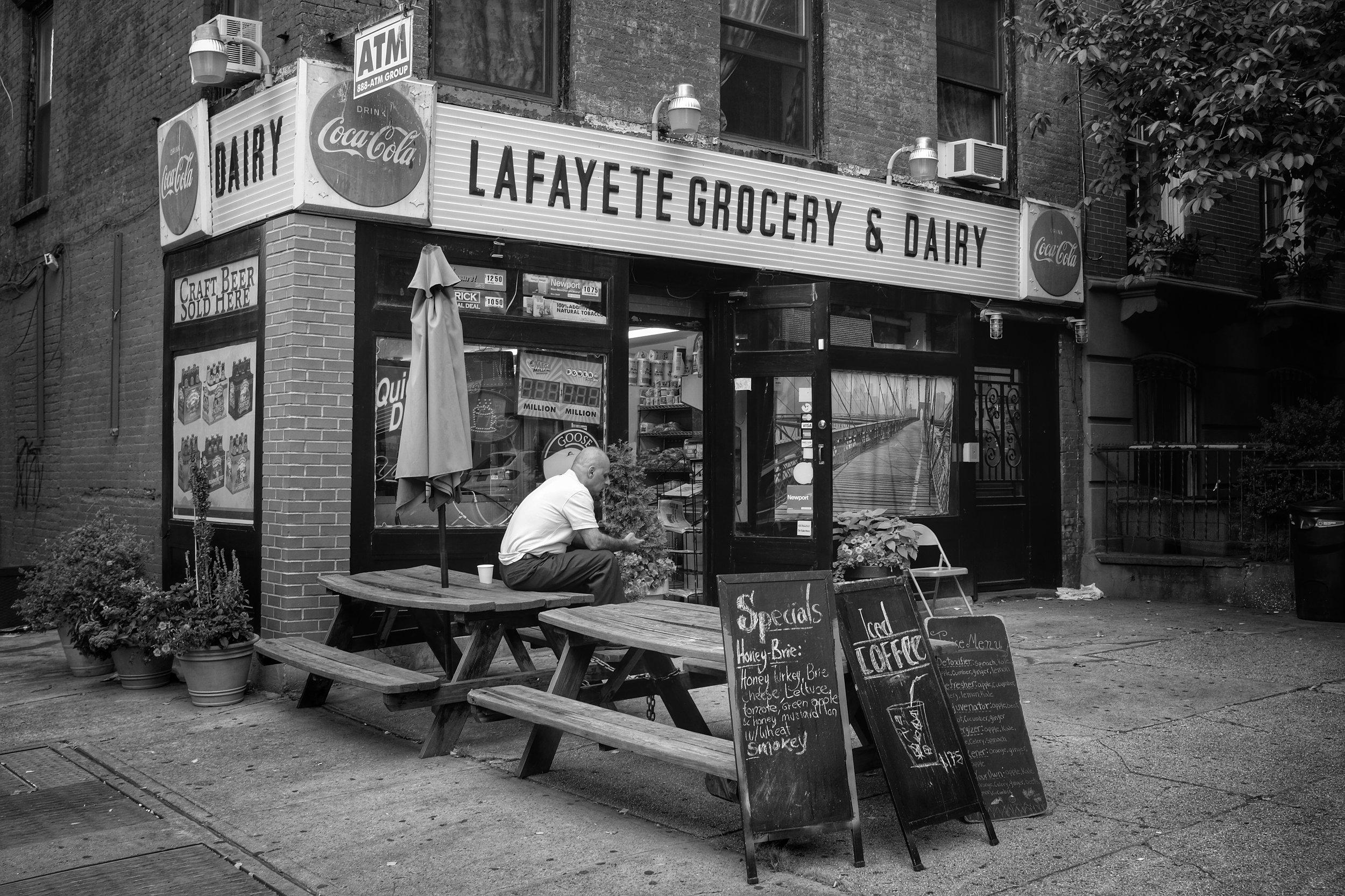 Lafayete Grocery & Dairy. Fort Greene. Brooklyn. New York. 2016.